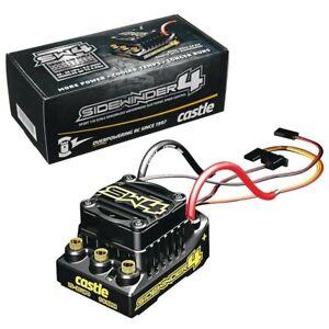 NEW Castle Creations SW4 Sidewinder 4 Sensorless WP ESC Brushed Brushless 2-3S