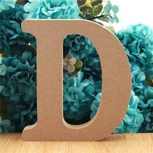 Wooden Handcrafts Alphabet Ornament English Letters Name Design Word Letter