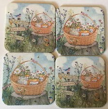 4 Longaberger Coasters Fall Of Home Canning