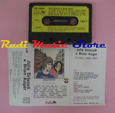 MC JULIE DRISCOLL & BRIAN AUGER London 1964-1967 1979 italy OXFORD cd lp dvd vhs