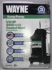 New Listingwayne Cdu 800 12 Hp Cast Iron Submersible Sump Pump With Automatic Switch