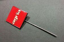 Agria Lapel Pin Glazed 17x17mm Stamped Order Bley Bonn