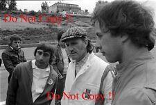 TONY BRISE & Graham Hill & Ray Brimble 'Ritratto Olandese GRAND PRIX 1975 Fotografia