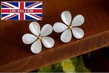 Korean flower sweet opal beads fashion, High-quality stud summer look