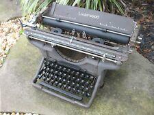 1930's 40's ? Underwood Standard Typewriter No. 5?