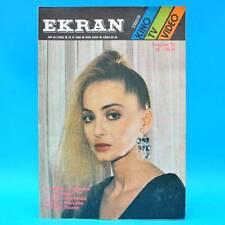 EKRAN 1559 | 22.-28.04.1988 | VR Polen FF Dabei | Sophie Marceau Def Leppard
