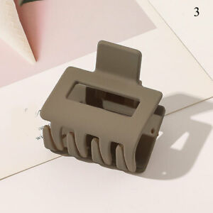Women Large Hair Clamp Claw Acrylic Clip Casual Big Barrette Crab Hair Accessory