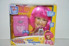 Lazy Town Stylin Stephanie Set Music and Talking Phrases Purse Wig Cell Phone