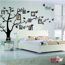 Family Tree Wall Decal Sticker Large Vinyl Photo Picture Frame Removable SP