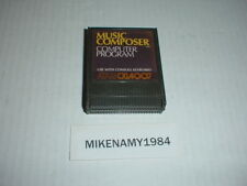MUSIC COMPOSER game cartridge only ATARI 400/800/XL/XE systems