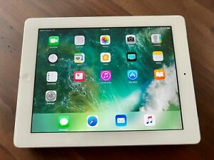 Apple iPad 4th Gen. (MD521LL/A) 64GB, WiFi + Cellular, 9.7in, White - Pre-owned