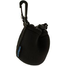 Small Neoprene Lens Protector Sleeve Pouch Bag Cover for SLR DSLR Camera Lenses