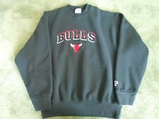RARE CHICAGO BULLS PRO-PLAYER L SWEATSHIRT 90,s hip hop OG JORDAN ERA NBA