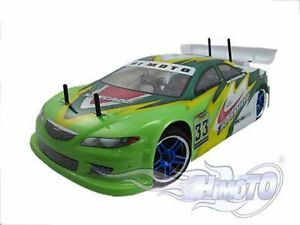 Car Electric Remote-Controlled 1/10 On Road Rbrushless 2.4GHZ Complete HIMOTO