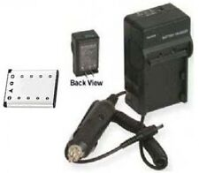 Battery + Charger for Olympus FE-220 FE-230 FE-240 FE-290 FE-4000 FE-4010