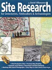 Metal Detecting Book: Site Research for Detectorists, Fieldwalkers D Villanueva
