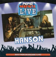 ★☆★ CD SINGLE HANSON Man from Milwaukee (Live) 1-track CARD SLEEVE PEPSI  ★☆★