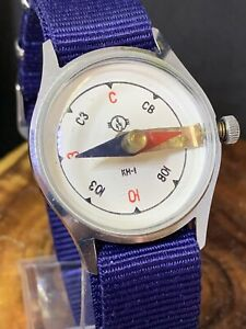 Wrist watch COMPASS Analog Vostok Wostok USSR Russian KH-1(KN-1) Military #0982