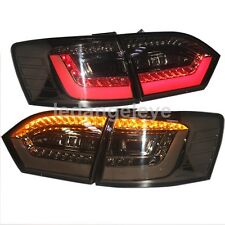 For VW Jetta MK6 LED Tail Lights Back Lamps 2011 to 2014 Year Smoke Black BW