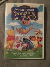Winnie the Pooh Springtime with Roo DVD Case Shows Wear Disc Is Resurfaced