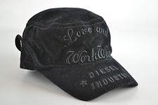 Diesel cimperyal cord black Mütze Baseball Cap Capi Caps size 02