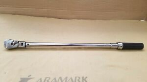 """GearWrench 85087 1/2"""" Drive Flex Head Micrometer Torque Wrench 30-250 ft/lbs"""