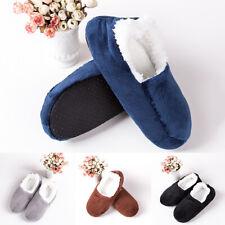 Invierno para hombre Calcetines De Piso Casa Interior Zapatillas Casual Esponjoso Calcetines Cama caliente