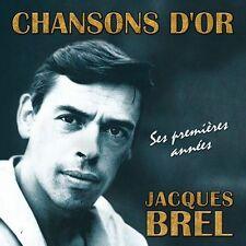 CD Chansons d'or : Jacques Brel - Intégrale 1954 à 1959