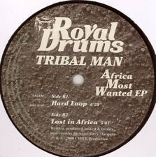 Tribal Man ‎– Africa Most Wanted EP - Royal Drums ‎– DRUM 007 - Fra 2000