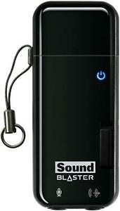 Creative Sound Blaster SB1290 X-Fi Go! Pro Portable USB Sound Card