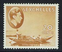 Seychelles SG# 140a - Chalk Paper -  Mint Light Hinged - 090515