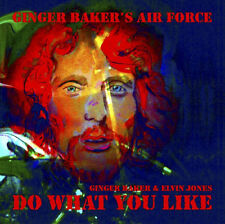 Ginger Baker's Air Force & Elvin Jones : Do What You Like CD (2018) ***NEW***