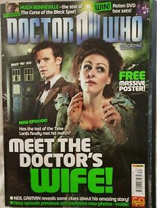 Dr Doctor Who Magazine Issue 434 May 2011 Doctors Wife includes poster Gaiman