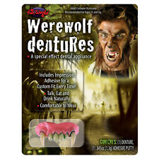 Werewolf Teeth Monster Fangs Dental Appliance Adult Halloween Costume Accessory