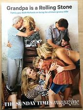 KEITH RICHARDS UK Sun.Times Mag  1 day issue Nov'15 Interview/family pix    EX!!