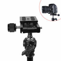 Quick Release QR With Clamp Adapter Plate For Tripod Ball Head
