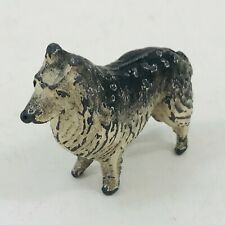 Hollow Cast Lead Lassie Dog Painted
