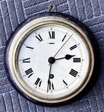Quality Brass Ships Clock 8-Day English F.W. Elliott Croydon 1952 Runs