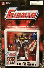 Bandai Gundam Mobile Fighter Red Card Burning God Action Figure MSIA Lot