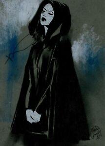 SANDMAN'S DEATH: Original Art by Shelton Bryant