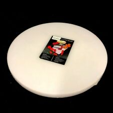 Extra thick Large Plastic Round Cutting Chopping Board 50x4cm Kitchen Restaurant
