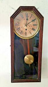 Waterbury Artic Wall Clock Circa 1890