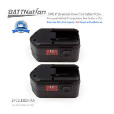 2x 3.3AH 3300mAh NiMh 18V Battery for MILWAUKEE 48-11-2200 48-11-2230 48-11-2232