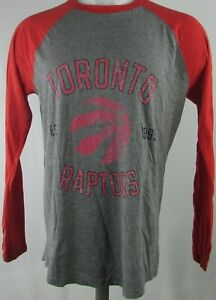Toronto Raptors Fanatics NBA Men's Gray Long Sleeve T-Shirt