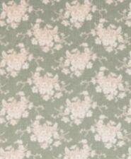 Sonderpreis ! 50x110 cm Tilda Stoff White Flower Grau-grün Patchwork