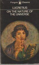 On the Nature of the Universe - Penguin Classics PB 1979 - Lucretius