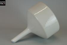 Großer Labor Trichter mit Sieb / XXL / Filter/ Porzellan / H31,5 - D25,5cm