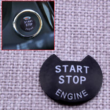 Black Engine Start Stop Push Button Cover Trim Fit for Nissan March 2015