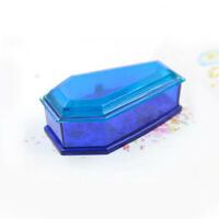 Silicone Vampire Coffin Mold with Cover Jewelry Storage Resin Mould Casting DIY