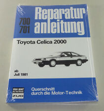 Repair Manual Toyota Celica 2000 - Year of Construction from July 1982